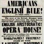 Handbill from Astor Place Opera House